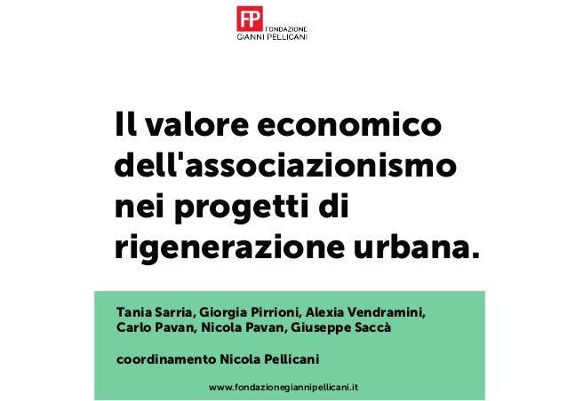 Tania Sarria, Giorgia Pirrioni, Alexia Vendramini, Carlo Pavan, Nicola Pavan, Giuseppe Saccà coordinamento Nicola Pellican...
