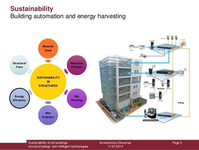 Sustainability of tall buildings structural design and