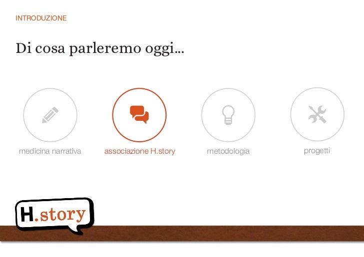 Medicina Narrativa: il valore della narrazione in medicina Slide 3