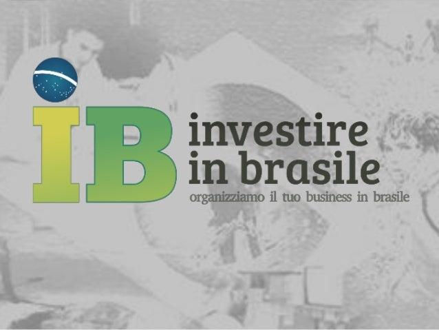 Orgogliosi di divulgare l'Eccellenza Italiana… Nati con il proposito di aiutare le PMI italiane in Brasile; oggi, siamo or...