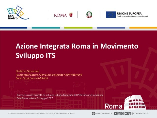 Fuschio(o–GiovenaliRSM Azione«RomainMovimento»1 Roma,EuropaIprogeBdisviluppourbanofinanziaFdalPONCi(àme...