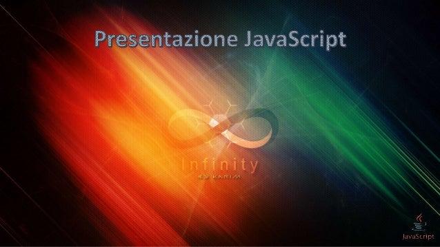 Presentazione JavaScript