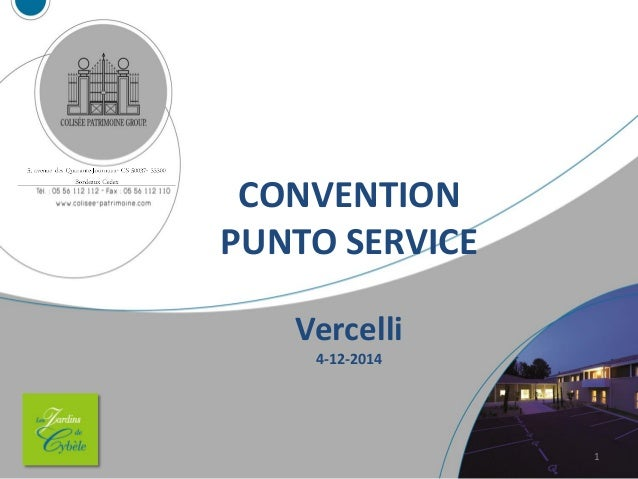 CONVENTION PUNTO SERVICE Vercelli 4-12-2014 1
