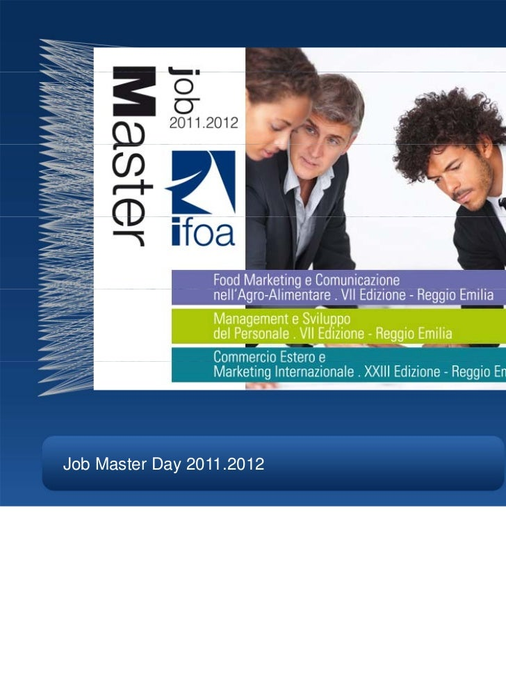 Job Master Day 2011.2012
