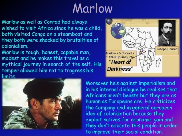 """""""marlow and kurtz's transformation as a Get an answer for 'what are two ways marlow changes on his journey, apart from how he sees europeans and africans and the latter's living conditions' and find homework help for other heart of ."""