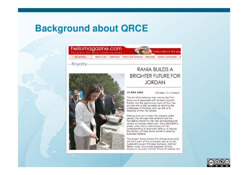 Queen Rania Centre for Entrepreneurship, by Mohamad M. Khawaja Slide 2