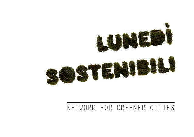 network for greener cities