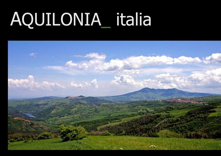 AQUILONIA_ italia