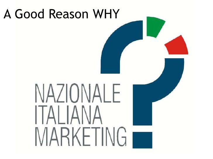 A Good Reason WHY