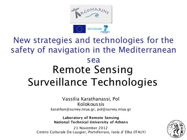 SST-234096 New strategies and technologies for thesafety of navigation in the Mediterranean                   sea         ...