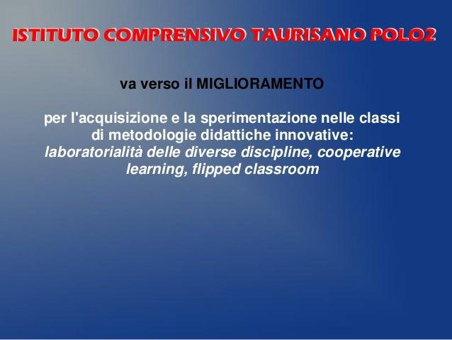 Metodologie Didattiche Innovative Flipped Classroom : Presentazione offerta formativa