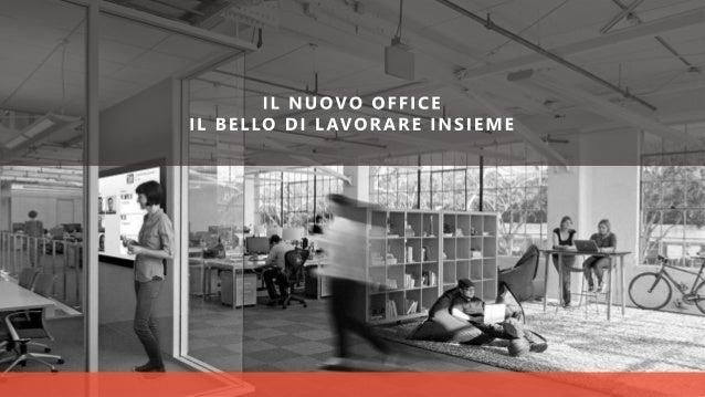 IL NUOVO OFFICE Cosa c'è di familiare Icone e layout delle applicazioni di sempre (PowerPoint, Word, Excel..) Cosa c'è di ...