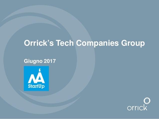Orrick's Tech Companies Group Giugno 2017