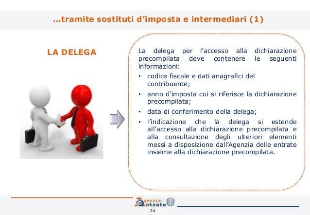 La dichiarazione precompilata l innovazione del modello for Agenzia entrate dichiarazione precompilata