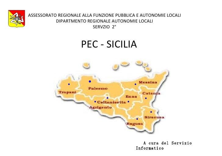 ASSESSORATO REGIONALE ALLA FUNZIONE PUBBLICA E AUTONOMIE LOCALI           DIPARTMENTO REGIONALE AUTONOMIE LOCALI          ...