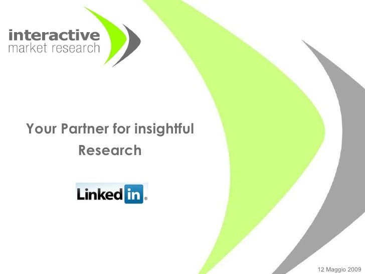 Your Partner for insightful Research