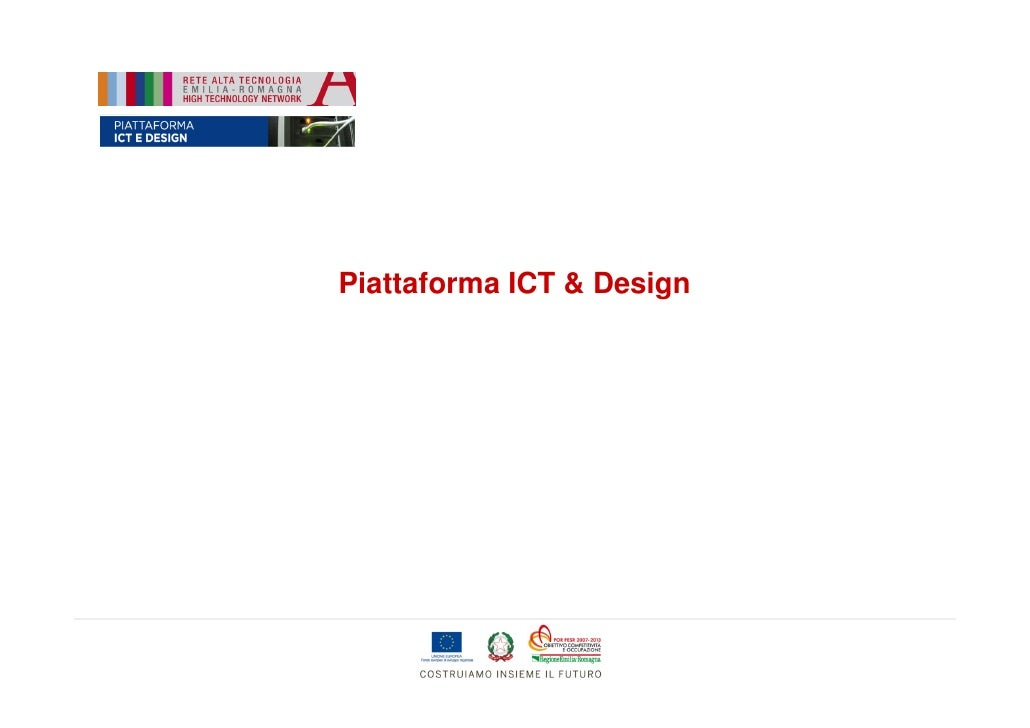 Piattaforma ICT & Design