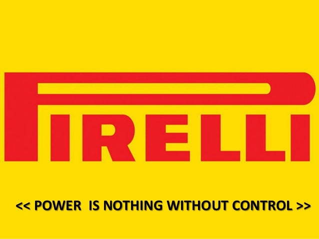 << POWER IS NOTHING WITHOUT CONTROL >>