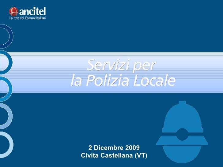 2 Dicembre 2009 Civita Castellana (VT)