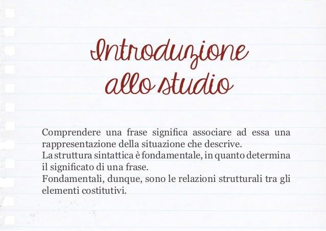 Comprensione e Memoria Slide 2