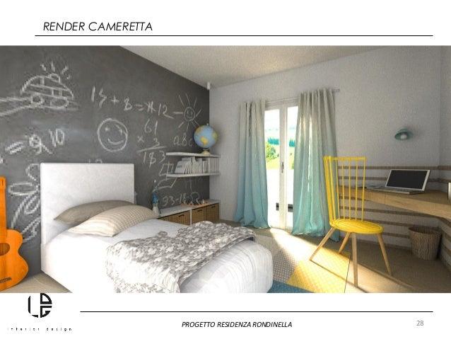 Progetto residenza rondinella render cameretta with for Progettare cameretta online