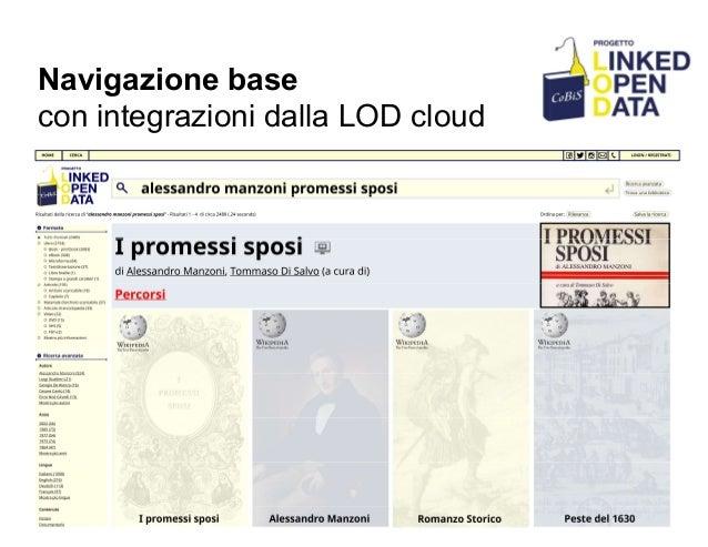 Navigazione base con integrazioni dalla LOD cloud