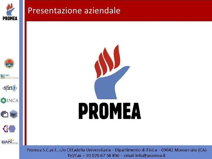 Presentazione aziendale