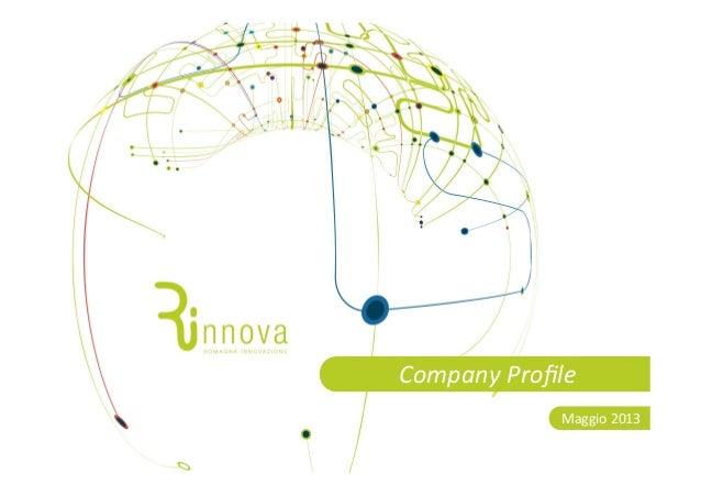 CompanyProfileMaggio2013