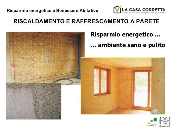 Risparmio energetico e benessere abitativo - Risparmio energetico casa ...