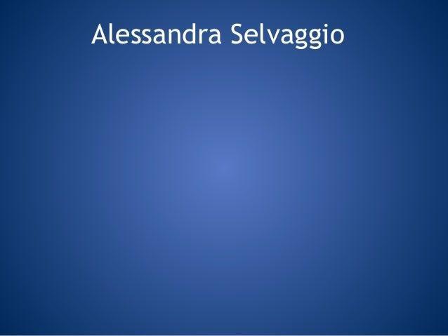 Alessandra Selvaggio