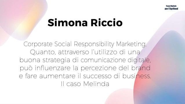 Corporate Social Responsability Dall'Osservatorio Sociali si denota un trend positivo delle aziende impegnate in iniziativ...