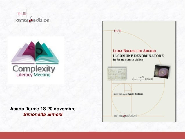 Abano Terme 18-20 novembre Simonetta Simoni