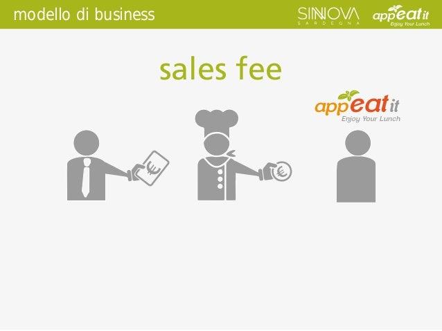 modello di business sales fee