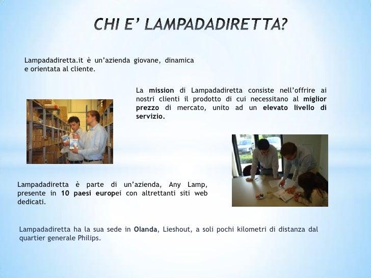 Presentazione Lampadadiretta