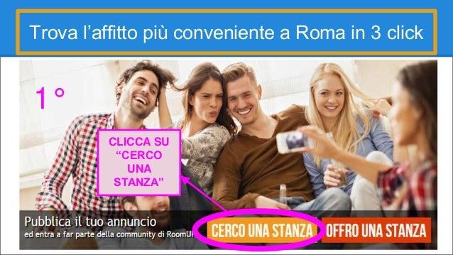 Cerco e offro stanza affitto roma roomup facile gratuito for Cerco locale in affitto a roma