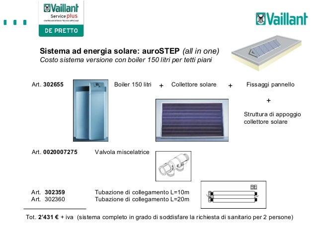 Valvola Miscelatrice Per Pannello Solare : Solare termico vaillant
