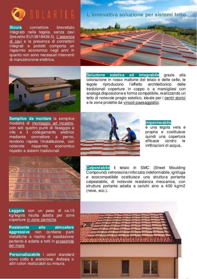 Presentazione Solar Roof Solarteg