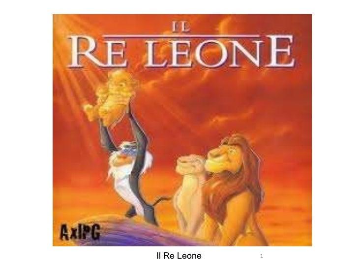il re leone.jpg Il Re Leone