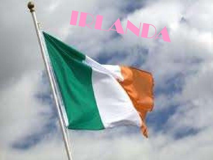 """IRLANDA     E"""" UN     ISOLA,CONFINA A     NORD-EST CON UNA     PARTE     DELL""""INGHILTERRA."""