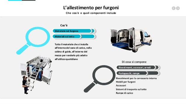 Il furgone allestito: indispensabile strumento dell'operatività quotidiana Slide 3