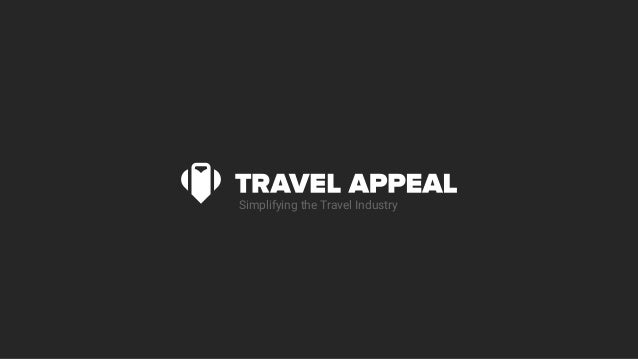 Simplifying the Travel Industry