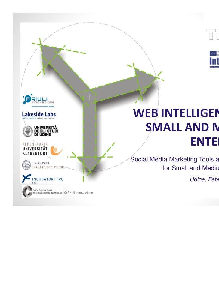 WEB INTELLIGENCE FOR                        SMALL AND MEDIUM                                ENTERPRISES                   ...