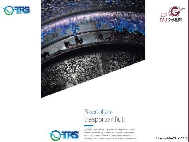 Presentazione TRS Ecologia   Francesco Belloni