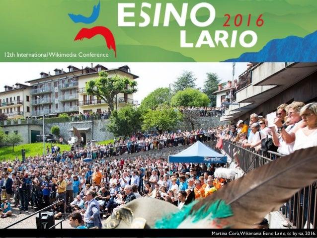 Wikimania Esino Lario 2016. Photo Wikimania 2014 Hackathon, Pierre-Selim, cc by-sa.