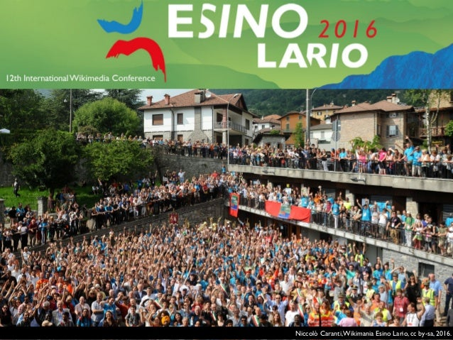 Sebastiaan ter Burg,Wikimania Esino Lario, cc by-sa, 2016.