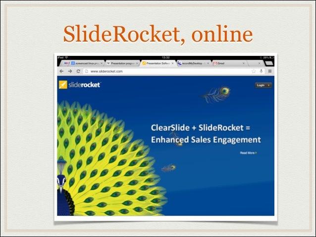SlideRocket, online