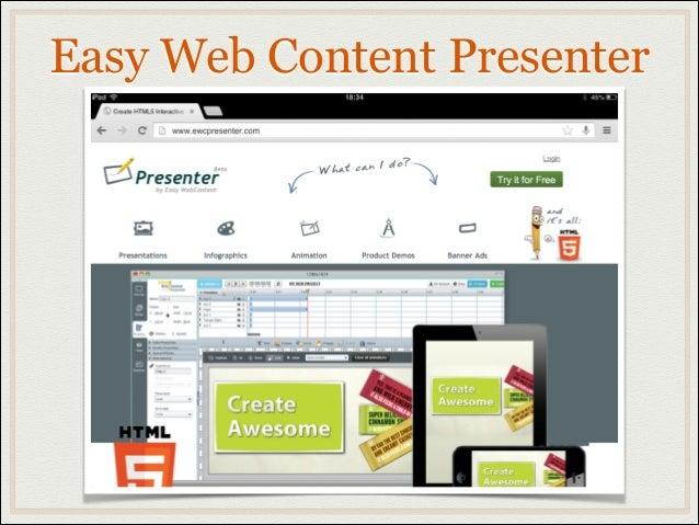 Easy Web Content Presenter