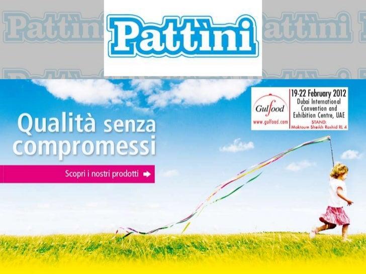 •   I.D.P. SRL - Industria Dolciaria Pattini.•   Nasce nell'ormai lontano dopoguerra    dallo sviluppo del forno Pattini a...