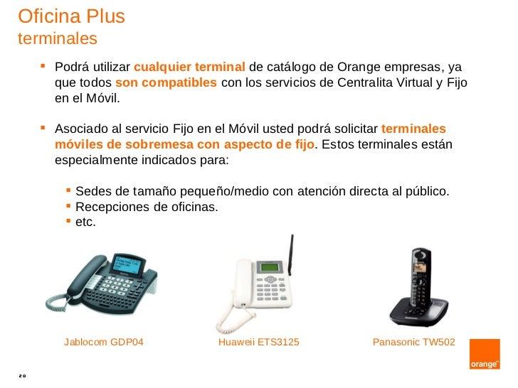 Oficina plus for Oficina de orange