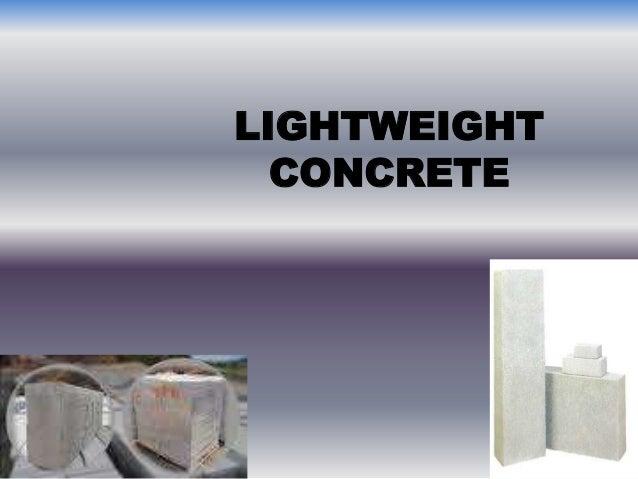 Lightweight Concrete Pdf